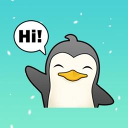 Penguin Cute Sticker