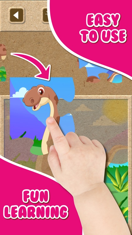 Dinosaur Jigsaw Puzzle.s Free Toddler.s Kids Games screenshot-1