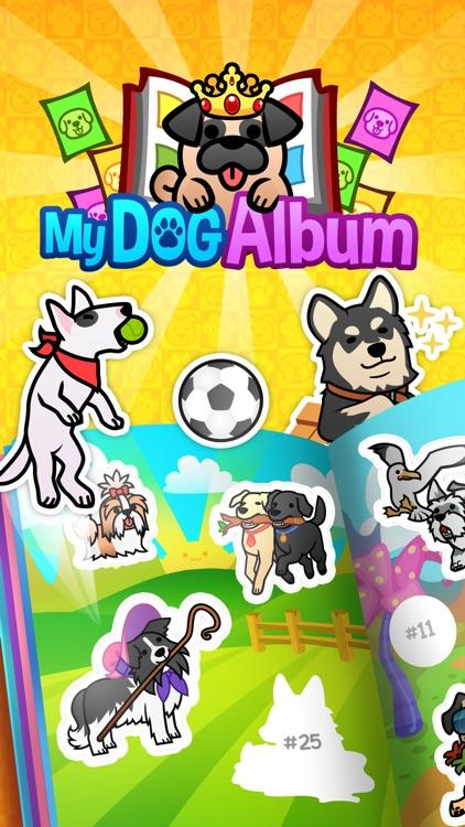My Dog Album - Pet Sticker Book Game