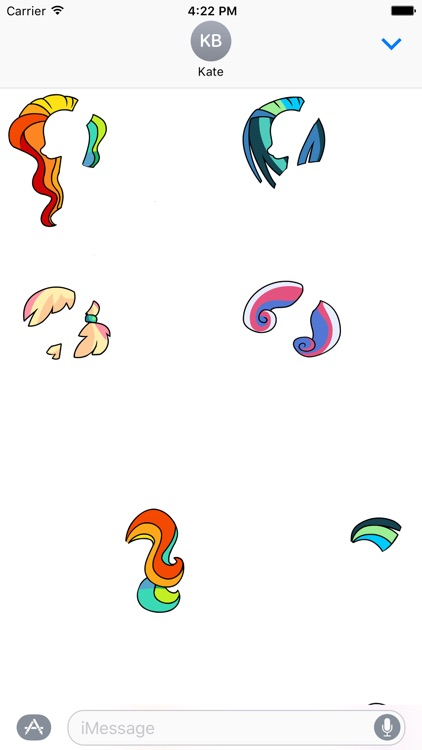 Unicorn Pegasus Pony Stickers screenshot-3
