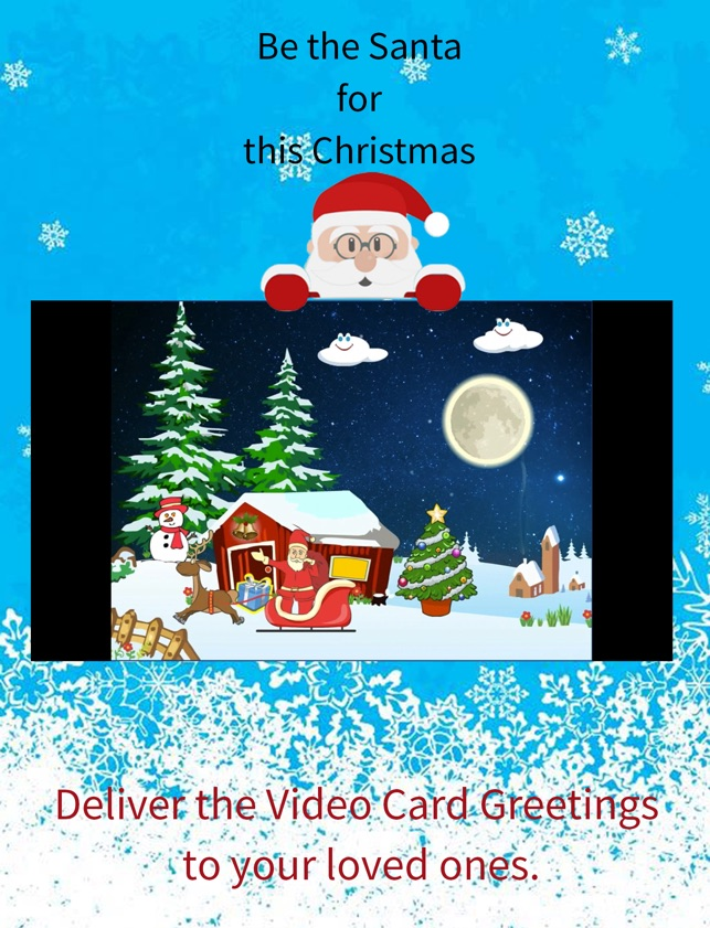 Christmas Greetings Video Card on the App Store