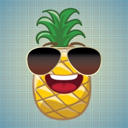 Sticker Me: Cool Pineapple