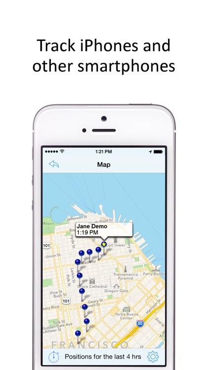 GPS Phone Tracker for Smartphones screenshot-3