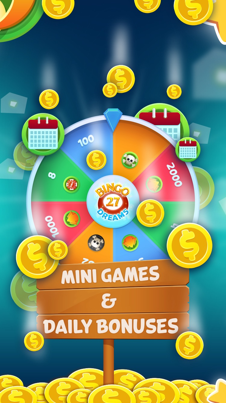 Bingo Dreams Bingo - Fun Bingo Games & Bonus Games Screenshot
