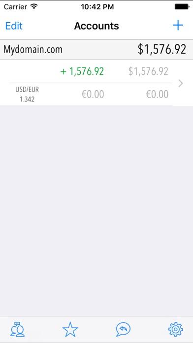 PayMobile - PayPal Manager Screenshot 1