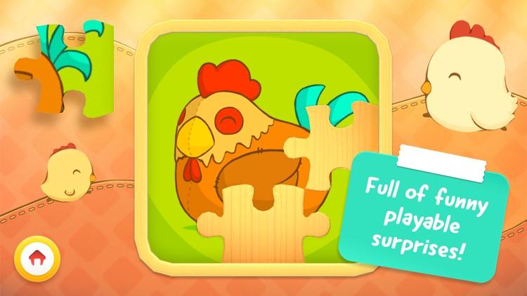 Toddler Animal Puzzle – Game for children (Full) screenshot-4