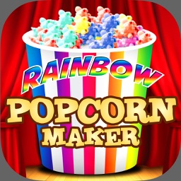 Rainbow Popcorn Maker - Movie Night Snack