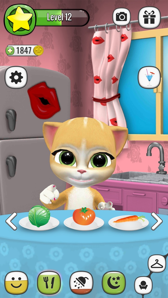 My Talking Virtual Cat Emma Screenshot