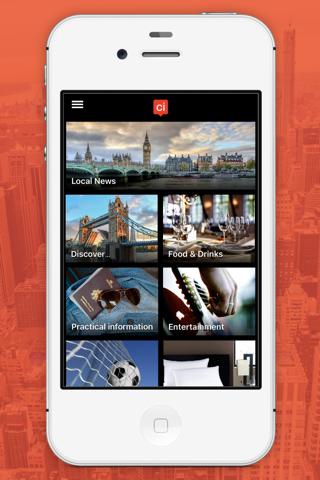 Plymouth City App - náhled