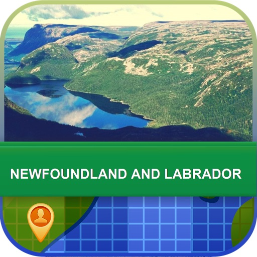 Newfoundland and Labrador Map - World Offline Maps