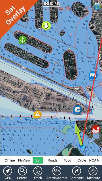 California fishing HD - GPS Map Navigator