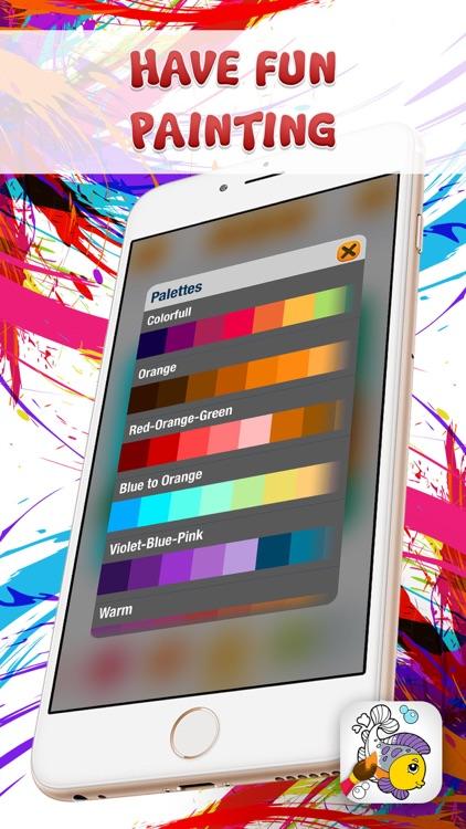 Doodle Kids Coloring Games screenshot-4