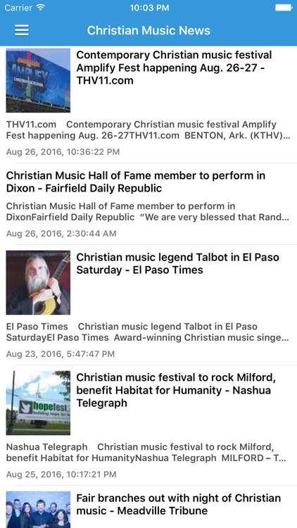 Christian Gospel Music Free - Worship Songs, Radio & Music Videos screenshot-4