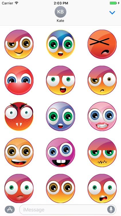 Emoticons Smiley Stickers
