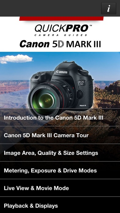 Screenshot 6 For Canon 5D Mark III From QuickPro HD