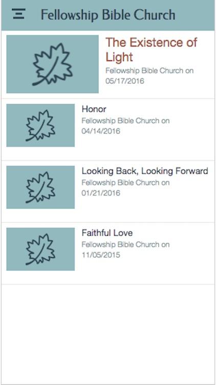 Fellowship Bible Church - GA