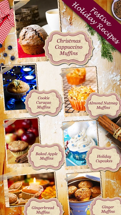 Christmas Muffins & Holiday Cupcakes - Recipes