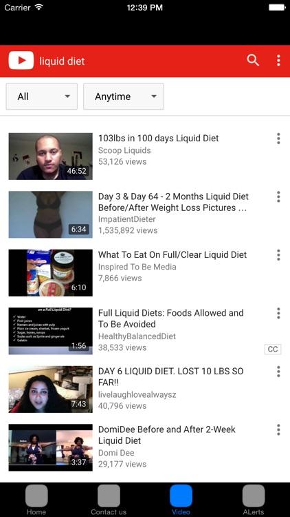 Liquid Diet Plan & Recipes #1 Weight Loss Diet screenshot-3