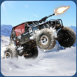 Buggy Death Racing Car Driver: Winter Rally Race