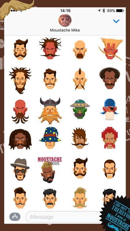 Moustache Moji screenshot-4