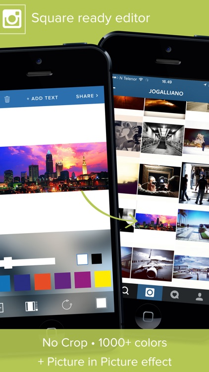 Giant Square PRO for Instagram, Twitter & Facebook screenshot-4