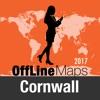 Cornwall Offline Karte und Reiseführer