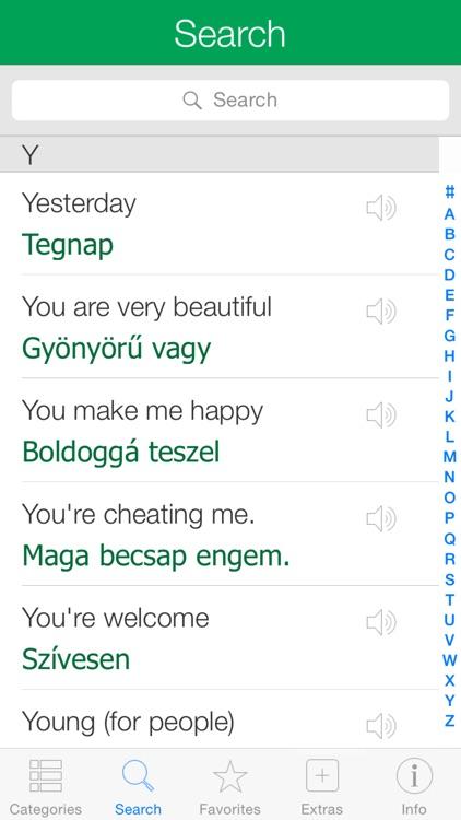 Hungarian Pretati - Speak with Audio Translation screenshot-3