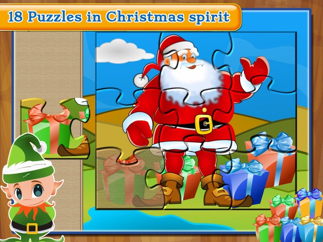 puzzle for santa claus christmas games for kids on the app store