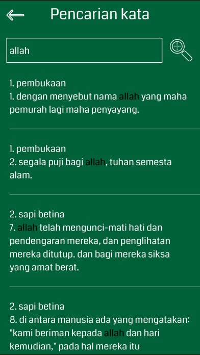 Indonesian Quran Audio screenshot four