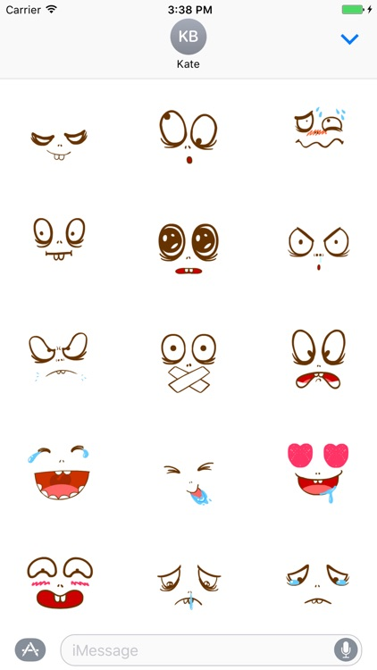 Bright big eyes animated - Fx Sticker