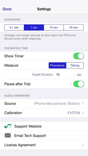Sonneta Voice Monitor