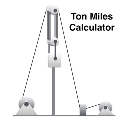 Ton Miles Calculator