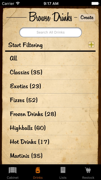Liquor Cabinet - Cocktails & Drinks screenshot-2