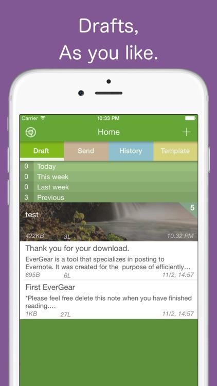 EverGear for Evernote screenshot-4