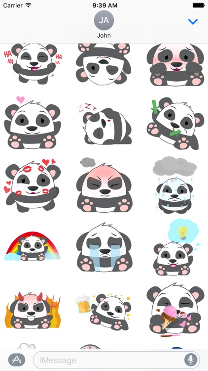 Oh Panda! Stickers