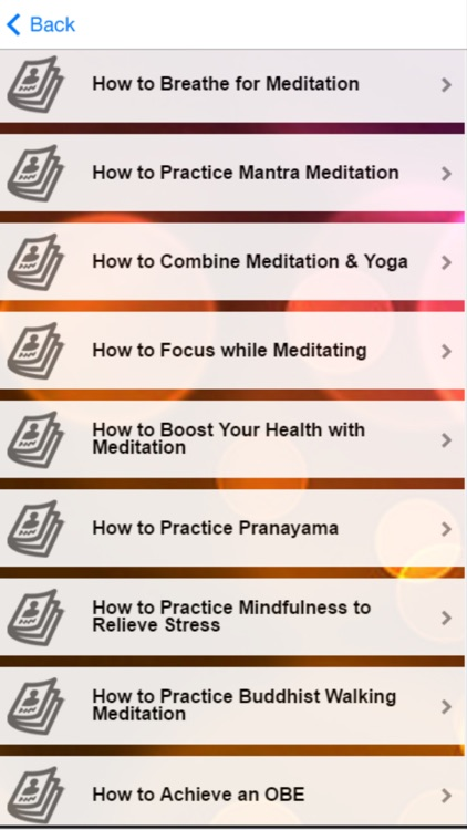 Meditation Tips - Learn How to Do Meditation screenshot-4