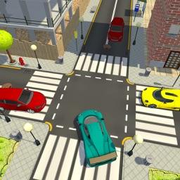 Racing Car in 3D Maze