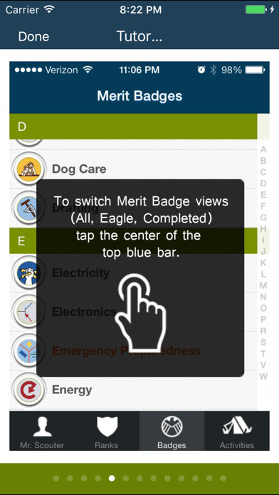 The Scout App for boys in Boy Scouts of America screenshot four