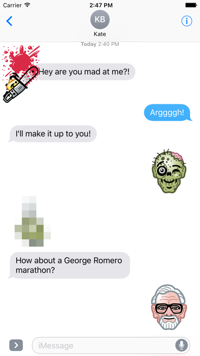 Screen Shot The Texting Dead! 4