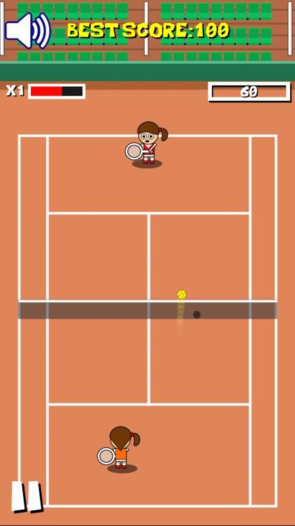 Tennis arcade game