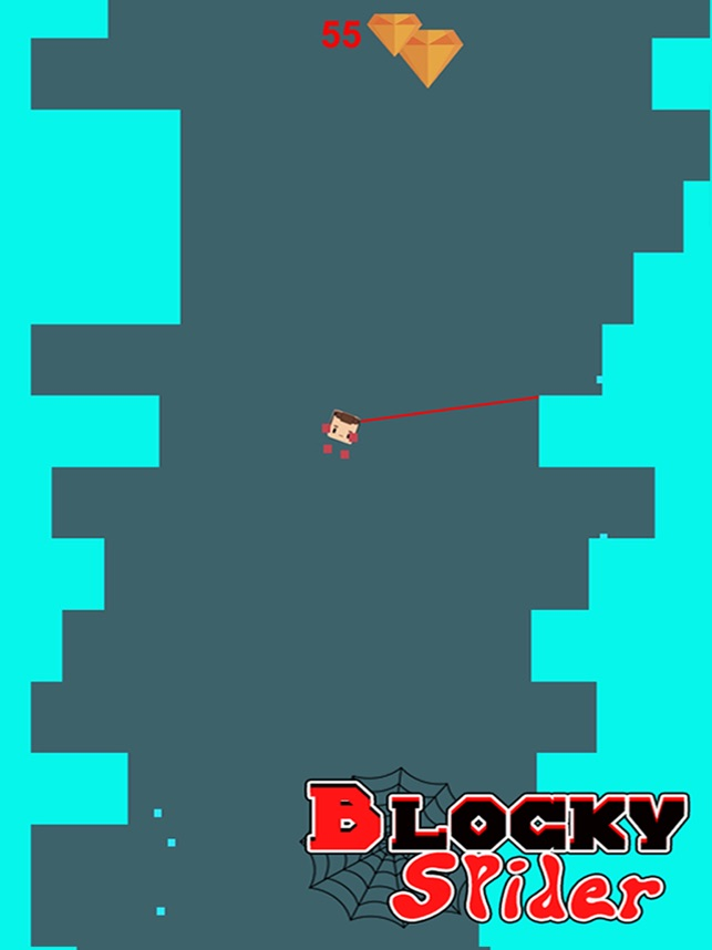 Blocky Spider - Free 3D Tower Blocks Addictive Endless Game, game for IOS