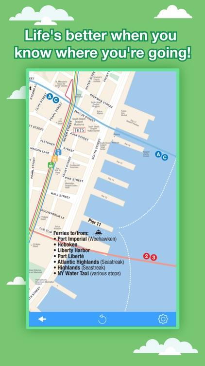 New York City Maps - NYC Subway and Travel Guides screenshot-4