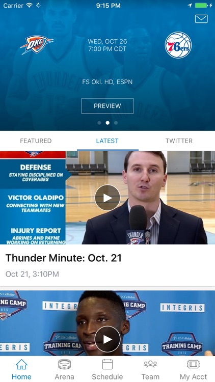 Oklahoma City Thunder screenshot-0