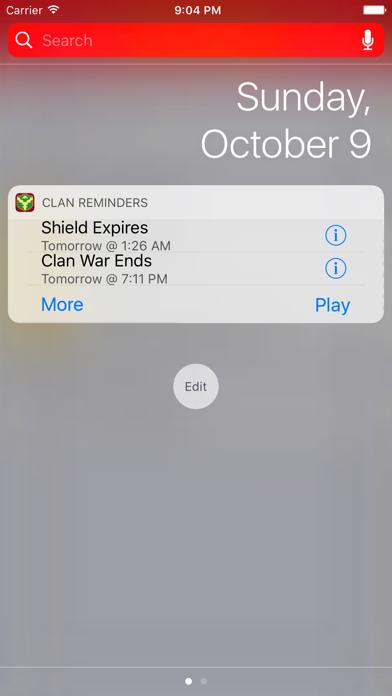 Clash Reminders screenshot four