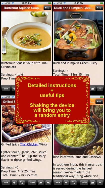 Thai Cuisine Recipe screenshot-0