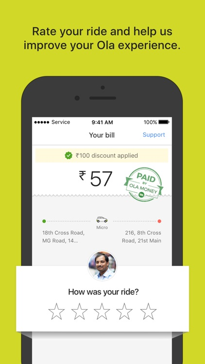 Ola cabs - Book taxi in India screenshot-3