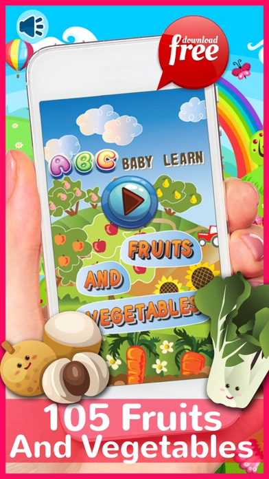ABC Baby Learn Fruits And Vegetables Free For Kids