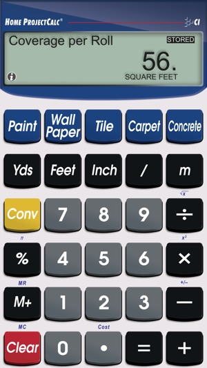 Home projectcalc diy project materials calculator on the for Material calculator for house
