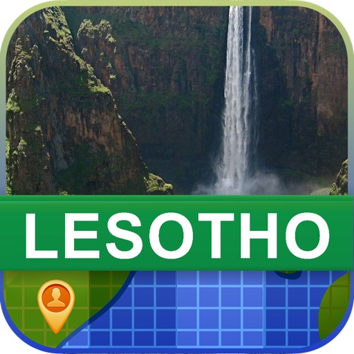 Offline Lesotho Map - World Offline Maps icon