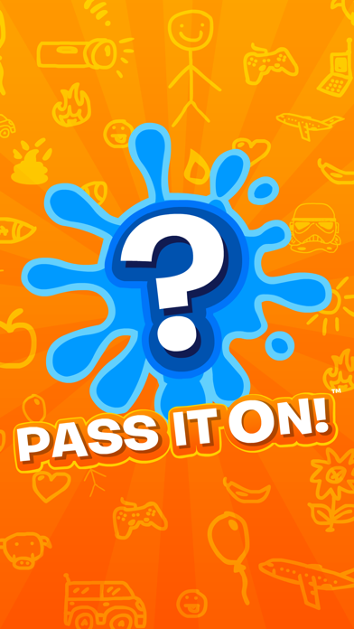 Pass It On! - Telephone Guessing Game & Drawing